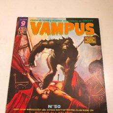Cómics: VAMPUS Nº 50. CON POSTER EN EL INTERIOR. GARBO 1975. Lote 83606352