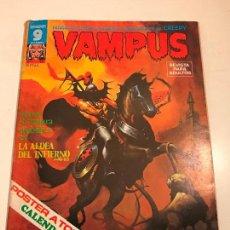 Cómics: VAMPUS Nº 52. CON POSTER EN EL INTERIOR. GARBO 1975. Lote 83606428