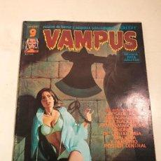 Cómics: VAMPUS Nº 57. CON POSTER EN EL INTERIOR. GARBO 1976. Lote 83606576