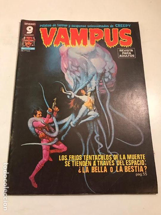 VAMPUS Nº 60. CON POSTER EN EL INTERIOR. GARBO 1976 (Tebeos y Comics - Garbo)