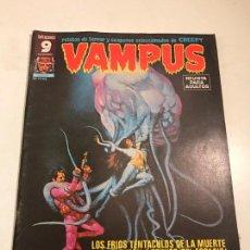 Cómics: VAMPUS Nº 60. CON POSTER EN EL INTERIOR. GARBO 1976. Lote 83606672