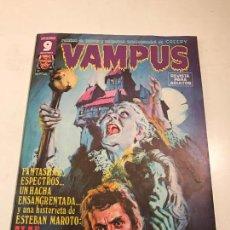 Cómics: VAMPUS Nº 62. CON POSTER EN EL INTERIOR. GARBO 1976. Lote 83606728