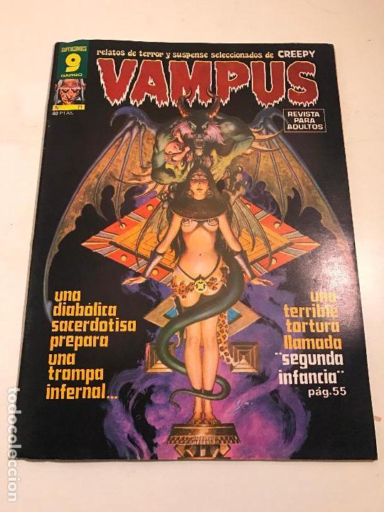 VAMPUS Nº 71. CON POSTER EN EL INTERIOR. GARBO 1977 (Tebeos y Comics - Garbo)