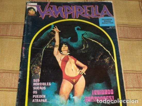 Cómics: VAMPIRELLA SPECIAL BY JOSÉ GONZÁLEZ TOUTAIN 1977 TAPA DURA. REGALO VAMPIRELLA Nº 1. GARBO 1974. - Foto 2 - 14039456