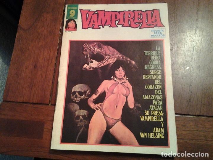 VAMPIRELLA Nº 4 Y 18 - COMIC EROTICO - AÑO 1973 segunda mano
