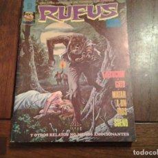Cómics: RUFUS Nº 22, 28, 29 Y 42 - COMIC DE TERROR - ED- GARBO - MAGNIFICO LOTE. Lote 86442636