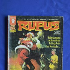 Cómics: RUFUS Nº 55 ** GARBO ** RELATOS GRAFICOS DE TERROR Y SUSPENSE. Lote 86481860