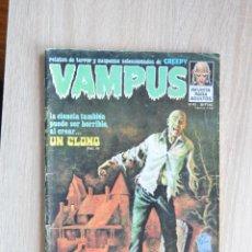 Cómics: VAMPUS Nº 43 ** GARBO ** RELATOS DE TERROR Y SUSPENSE SELECCIONADOS DE CREEPY. Lote 88176528