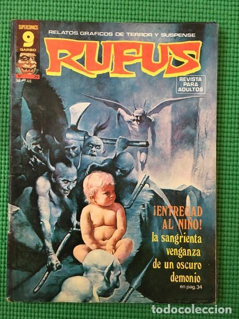 RUFUS Nº 39 - D1 (Tebeos y Comics - Garbo)