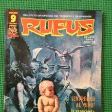 Cómics: RUFUS Nº 39 - D1. Lote 91342625