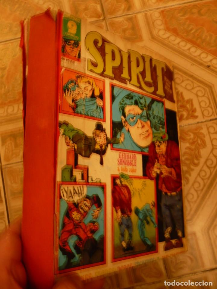 Cómics: LOTE 18 NÚMEROS THE SPIRIT GARBO EDITORIAL - Foto 2 - 92368205