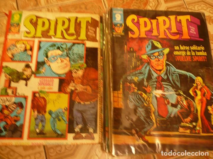 Cómics: LOTE 18 NÚMEROS THE SPIRIT GARBO EDITORIAL - Foto 3 - 92368205