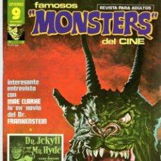 Cómics: REVISTA FAMOSOS MONSTERS DEL CINE. Nº 6. OCTUBRE 1975. GARBO. Lote 95658807