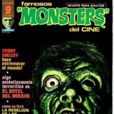Cómics: REVISTA FAMOSOS MONSTERS DEL CINE. Nº 5. AGOSTO 1975. GARBO. Lote 95658951
