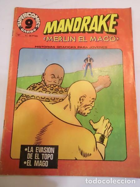 MANDRAKE - MERLIN EL MAGO - NUM 5 - GARBO EDIT.- 1973 (Tebeos y Comics - Garbo)