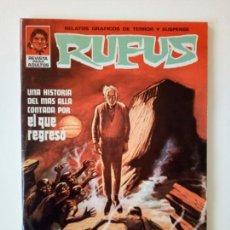 Cómics: RUFUS # 9 EXCELENTE. COMO NUEVO. Lote 99335311