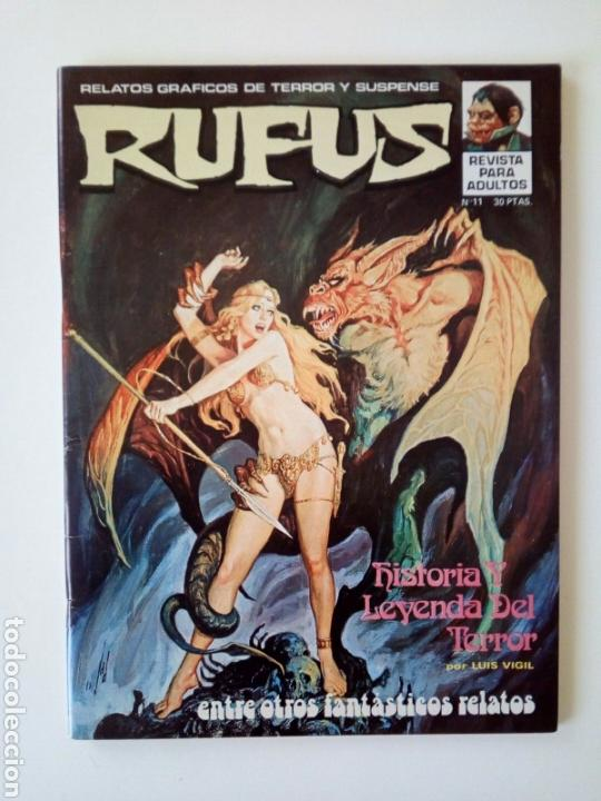 RUFUS # 11 EXCELENTE. COMO NUEVO (Tebeos y Comics - Garbo)