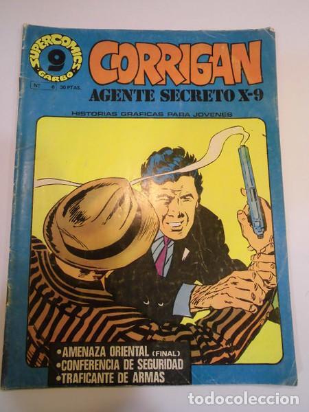 CORRIGAN AGENTE SECRETO X-9 - NUM 8 - ED GARBO- 1973 (Tebeos y Comics - Garbo)
