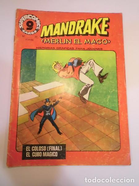 MANDRAKE - NUM 23 - ED GARBO- 1973 (Tebeos y Comics - Garbo)