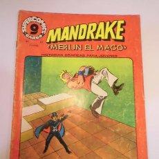 Cómics: MANDRAKE - NUM 23 - ED GARBO- 1973. Lote 102565270