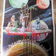 Cómics: SPIRIT POSTER CARTEL DE 1977 DE TAMAÑO 60X50 WILL EISNER TOUTAIN. Lote 102956467