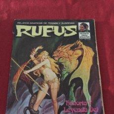 Cómics: RUFUS NUMERO 11 NORMAL ESTADO REF.47. Lote 103879155