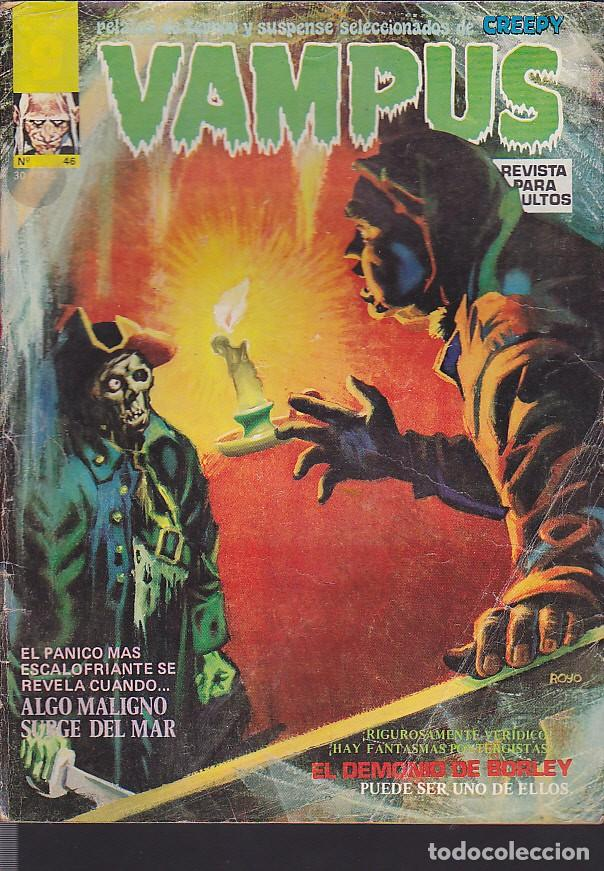 COMIC COLECCION VAMPUS Nº 46 (Tebeos y Comics - Garbo)