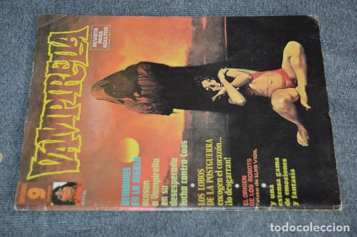 Cómics: LOTE 3 TEBEO / COMIC - VAMPIRELLA 10, 25 Y 29 - REVISA PARA ADULTOS - AÑOS 70 - VINTAGE - HAZ OFERTA - Foto 2 - 107525347