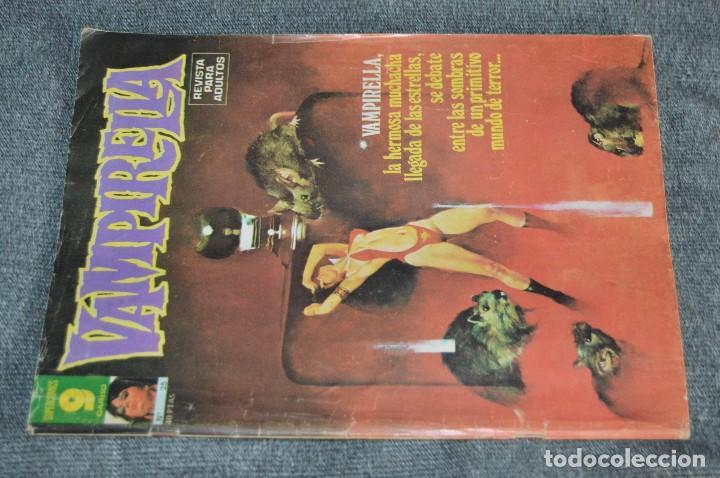 Cómics: LOTE 3 TEBEO / COMIC - VAMPIRELLA 10, 25 Y 29 - REVISA PARA ADULTOS - AÑOS 70 - VINTAGE - HAZ OFERTA - Foto 6 - 107525347