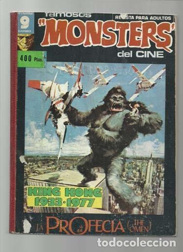 FAMOSOS MONSTERS DEL CINE, TOMO 21, 7, 8, 9, 10, 11, 12, 1975, GARBO, BUEN ESTADO (Tebeos y Comics - Garbo)