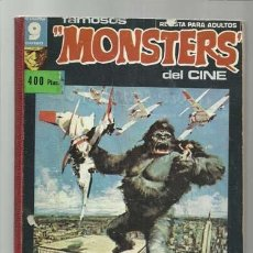 Cómics: FAMOSOS MONSTERS DEL CINE, TOMO 21, 7, 8, 9, 10, 11, 12, 1975, GARBO, BUEN ESTADO. Lote 107722099
