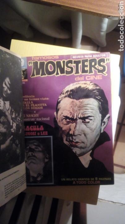 Cómics: Famosos monsters del cine - Foto 2 - 113347587