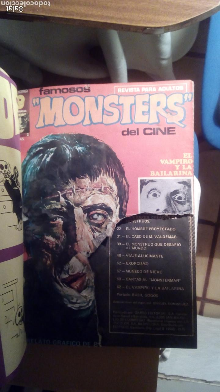 Cómics: Famosos monsters del cine - Foto 3 - 113347587