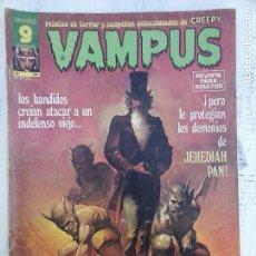 Cómics: VAMPUS Nº 58 CONTIENE POSTER, VER IMÁGENES - PAUL NEARY, JOSÉORTIZ, AURALEÓN, GONZALO MAYO ETC.. Lote 113466599