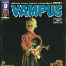 Cómics: VAMPUS Nº 73 - GARBO, OCTUBRE 1977 - ILUSTRACIONES DE LEO SANCHEZ, JOSE ORTIZ, BEA, POSTER DE MAROTO. Lote 113699099