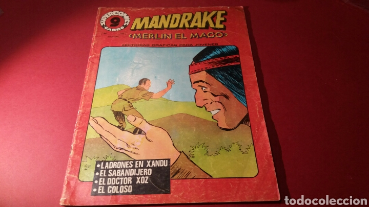 MANDRAKE 20 GARBO (Tebeos y Comics - Garbo)