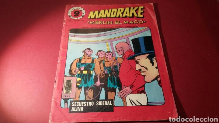 MANDRAKE 11 GARBO (Tebeos y Comics - Garbo)