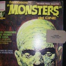 Cómics: FAMOSOS MONSTERS DEL CINE Nº3 ED, GARBO . Lote 116385371