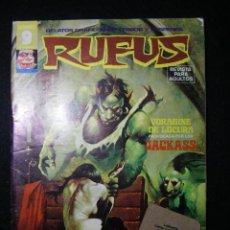 Cómics: RUFUS Nº 25. Lote 117172087
