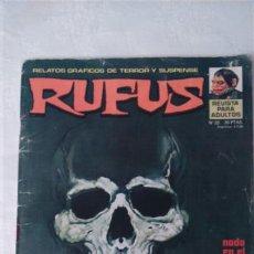 Cómics: RUFUS NUM. 22 EDITORIAL GARBO. Lote 117405070