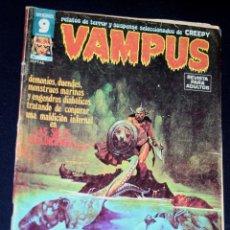 Cómics: VAMPUS 55. Lote 120454963