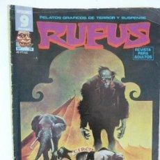 Cómics: RUFUS. Nº 24. Lote 121340023
