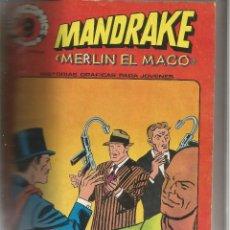 Cómics: ALBUM CON 8 COMIC MANDRAKE Nº 2-5-8-11-14-17-20-23 ENCUADERNADO EN TAPA DURA . Lote 121974823