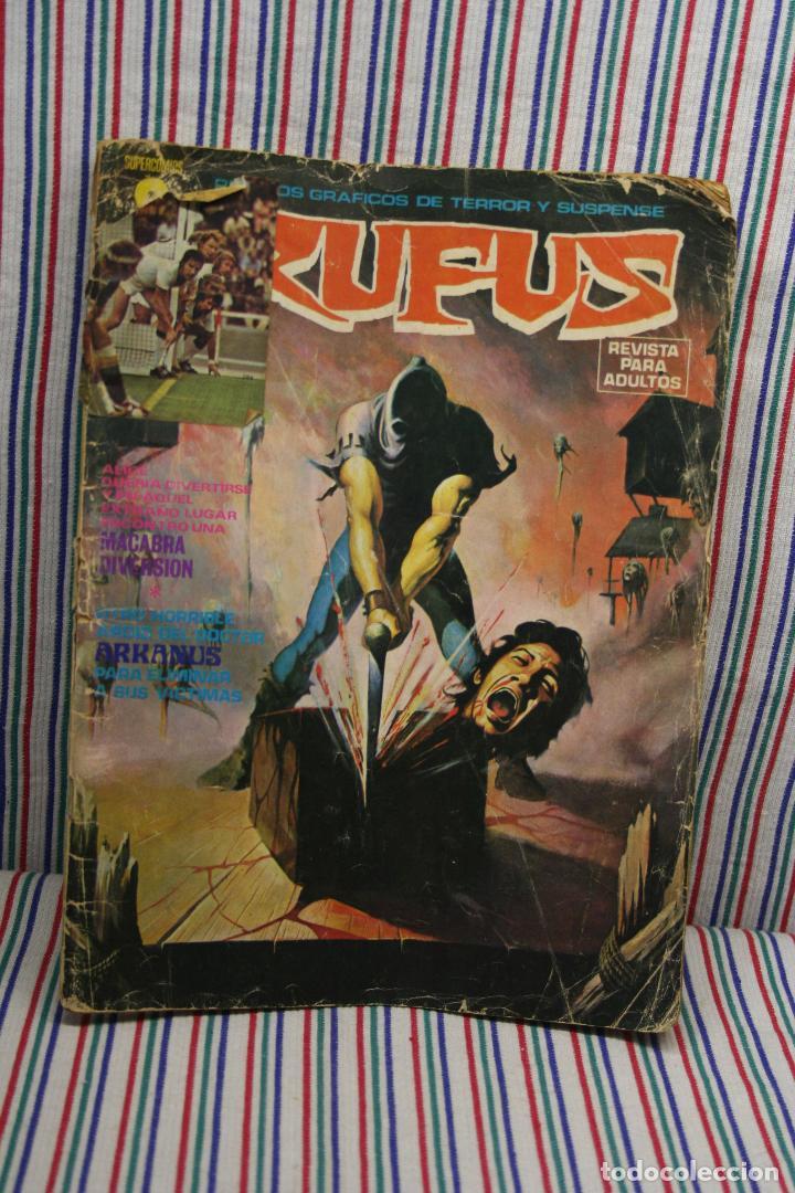 RUFUS RELATOS GRAFICOS DE TERROR Y SUSPENSE (Tebeos y Comics - Garbo)