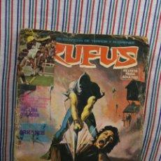 Cómics: RUFUS RELATOS GRAFICOS DE TERROR Y SUSPENSE. Lote 122600307