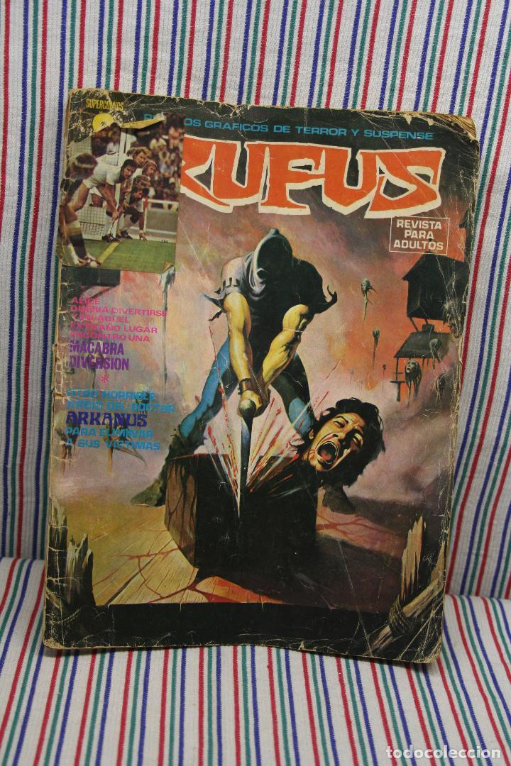 Cómics: RUFUS RELATOS GRAFICOS DE TERROR Y SUSPENSE - Foto 2 - 122600307