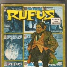Cómics: RUFUS - EXTRA PRIMAVERA 74 - RELATOS GRAFICOS DE TERROR Y SUSPENSE - GARBO-. Lote 123128591