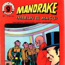 Cómics: MANDRAKE MERLIN EL MAGO. Nº 11. SUPERCOMICS. GARBO. AÑO 1973. Lote 125902454
