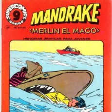 Cómics: MANDRAKE MERLIN EL MAGO. Nº 14. SUPERCOMICS. GARBO. AÑO 1973. Lote 125902666