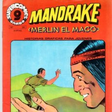 Cómics: MANDRAKE MERLIN EL MAGO. Nº 20. SUPERCOMICS. GARBO. AÑO 1973. Lote 125902846